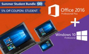 windows 10 and office 2016 bundle