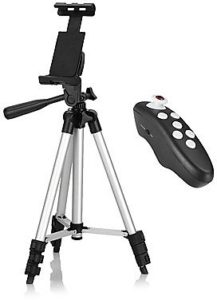 Tripod Bluetooth with Remote Control for iPhone / Android Smartphone
