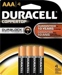 Best Buy Duracell Quantum AAA Batteries 4 Pack 499 Duracell